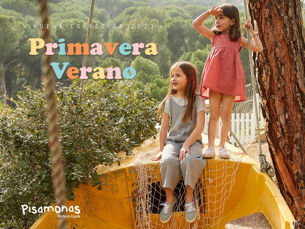 ¡Nueva Colección Primavera Verano 2021 de Pisamonas!
