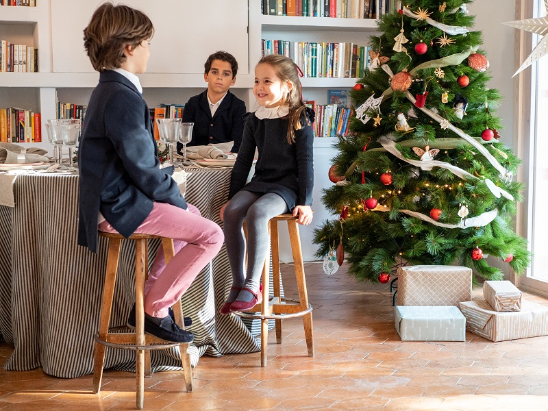 Moda Infantil para Navidad con el Lookbook Pisamonas