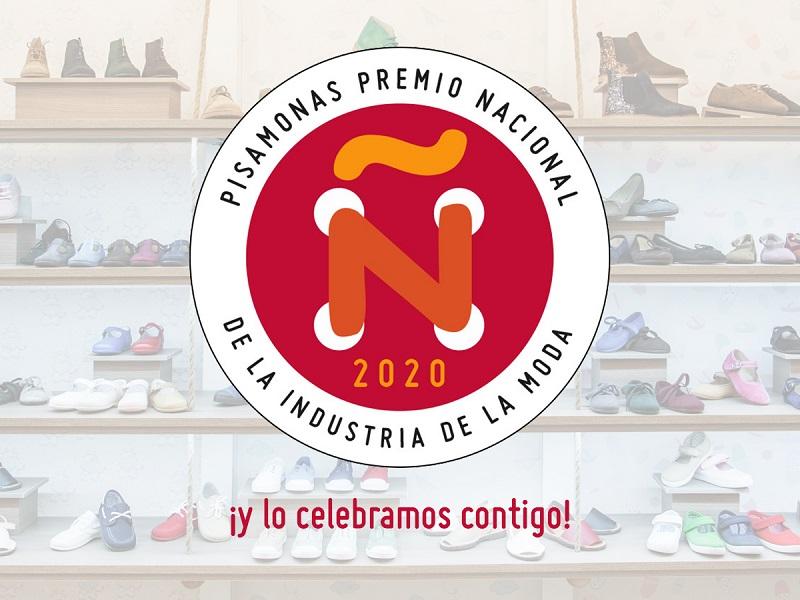 ¡PISAMONAS PREMIO NACIONAL DE LA INDUSTRIA DE LA MODA 2020!