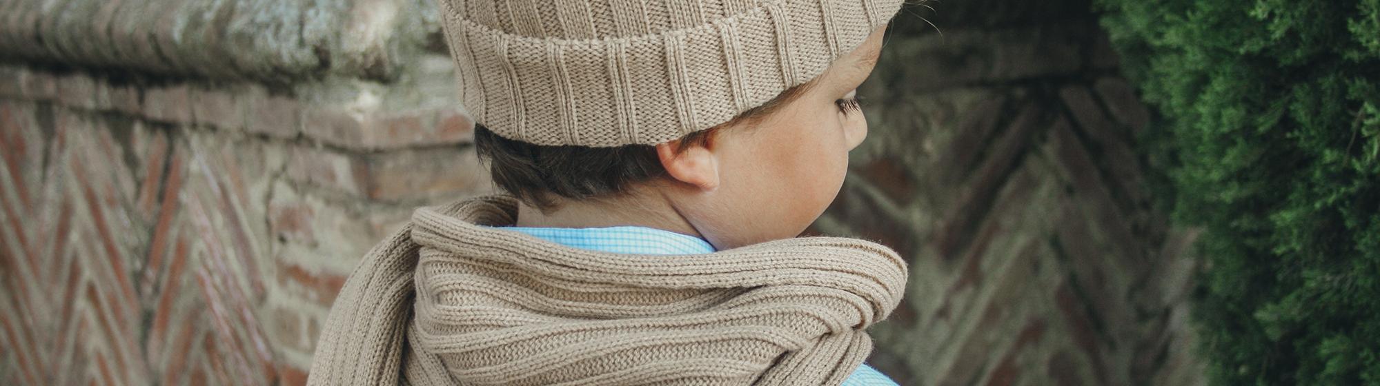 Complementos para el Frio. Guantes y Gorros para Niños dca07f03c46