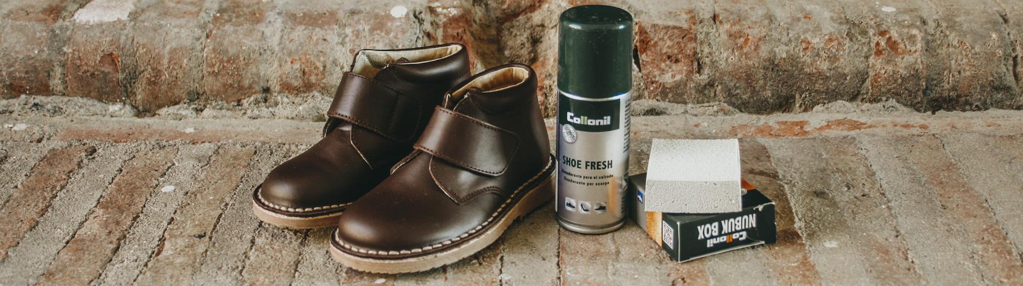 Para limpiar zapatos