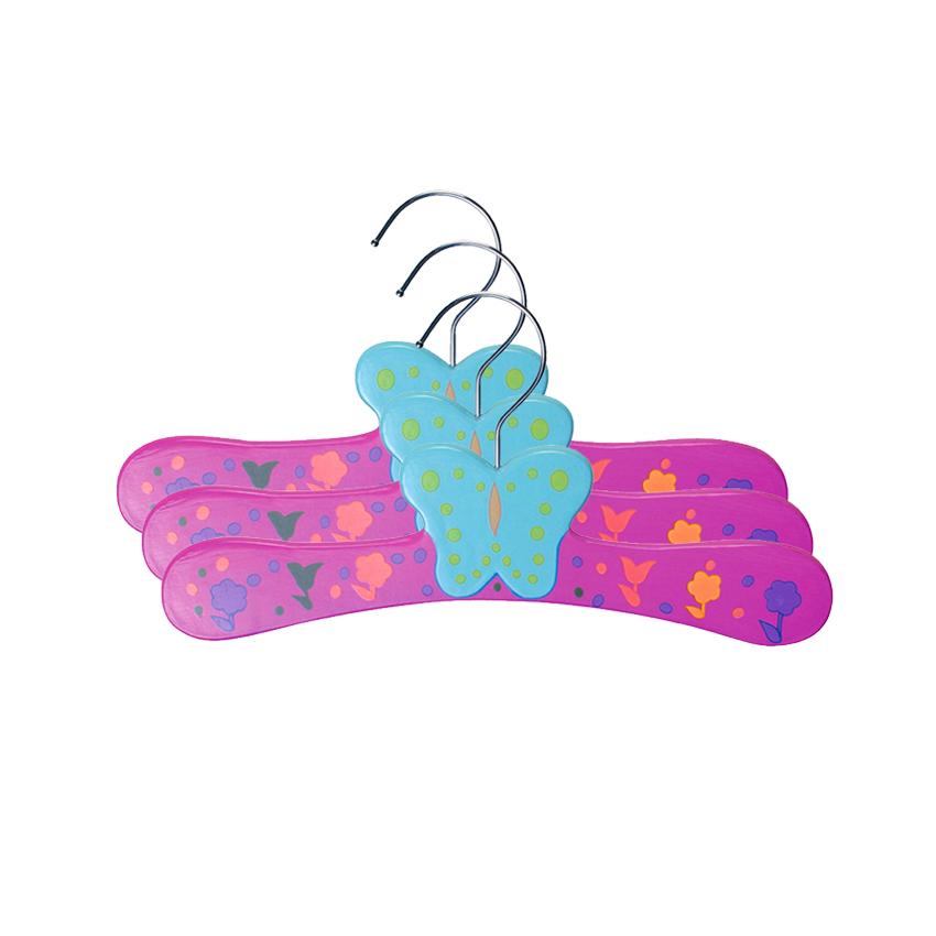 Pack de Perchas de Madera para Bebés