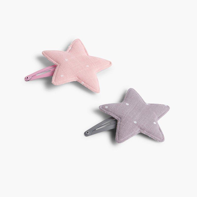 Horquilla estrella con topitos