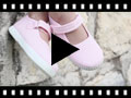 Video from Merceditas Niña Velcro Suela tipo Zapatillas
