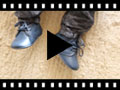 Video from Badana Bota Cordones con Picado Piel