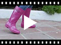 Video from Bota Agua Rain Glitter