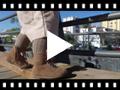 Video from Botas pascualas con cremallera y lazo raso