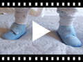 Video from Zapatillas de Estar por Casa Bota Estrellitas