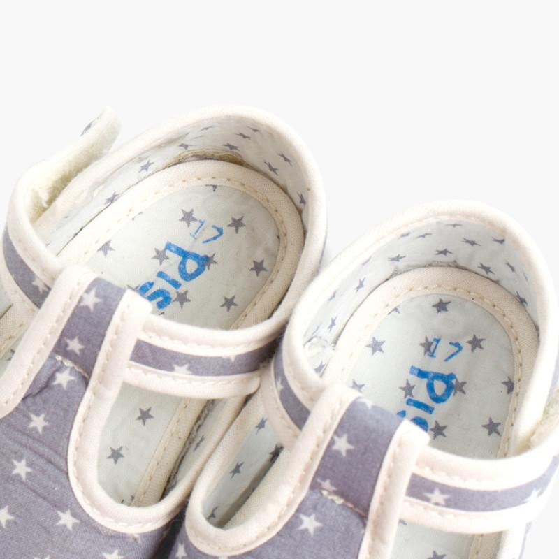 1dbfe4f64d8 Badana Pepito Bebé Tela Estrellas. Zapatos baratos Bebé
