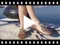 Video from Blucher Niña Piel Metalizada