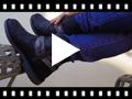 Video from Botas Bajas con Adorno Efecto Serpiente