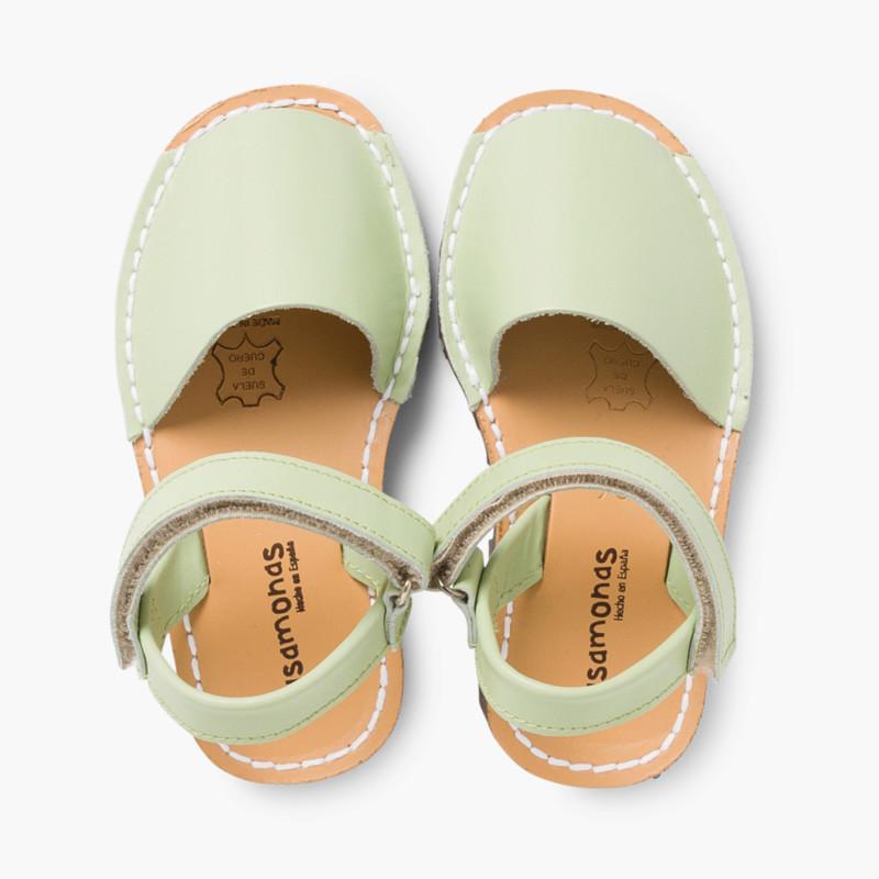 2c305e9d43b Menorquinas Niños Avarcas Velcro. Calzado Infantil online