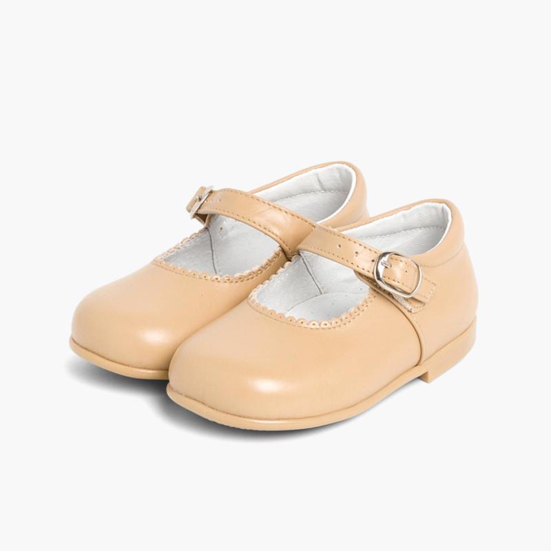 c6ca32221ac Merceditas Niña Piel Hebilla. Zapatos baratos para Niñas