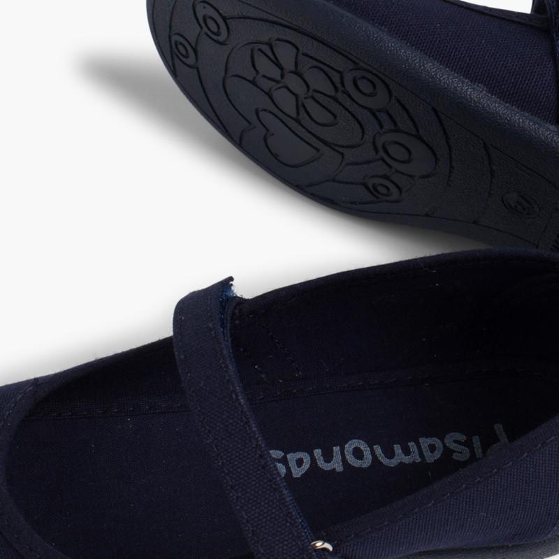 Merceditas Niña Tela Velcro fino