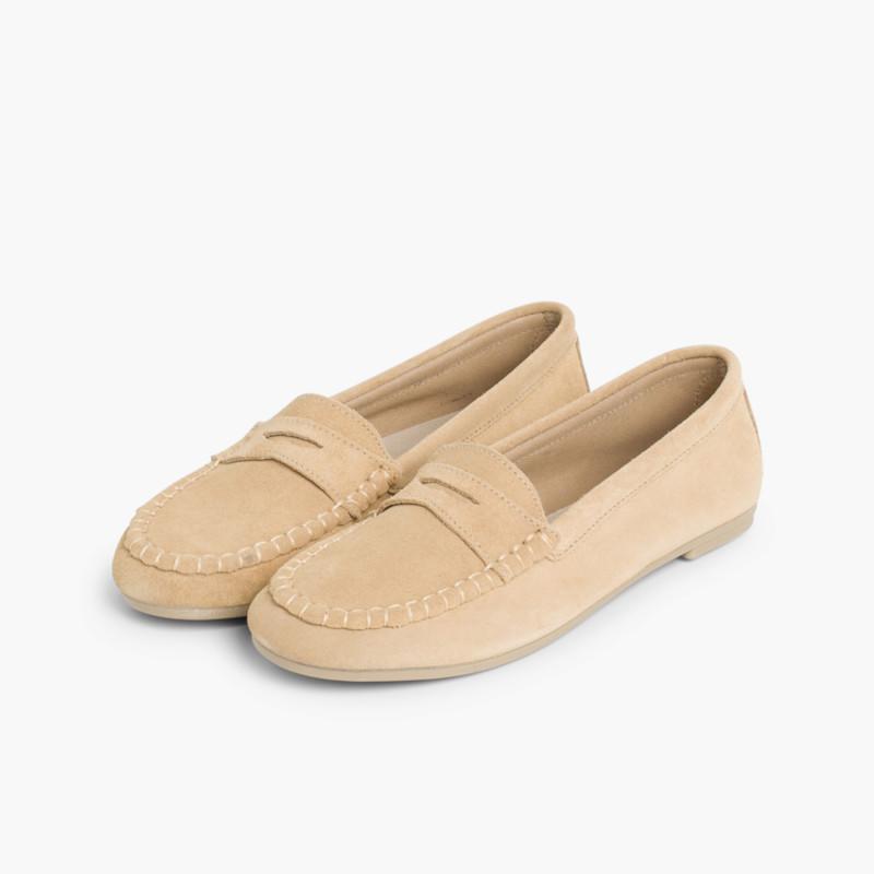9ffd9d2cb85 Mocasín de Serraje Antifaz Norteñas. Zapatos para Niños