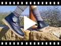 Video from Pisacacas Piel Botas Colegio con Velcro