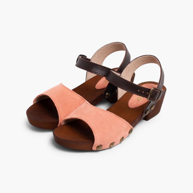 cfe0df22c4b Calzado de verano para niñas en serraje