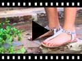 Video from Sandalia Piel Dedo Animal Print