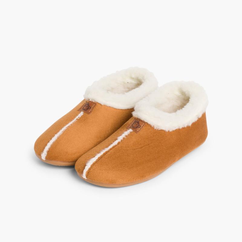 Zapatillas Casa Bamara forro tipo Borrego
