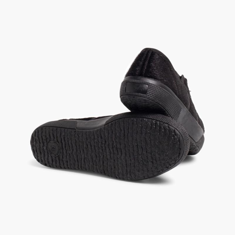 Zapatillas Pelo Sintético para Niña y Mujer