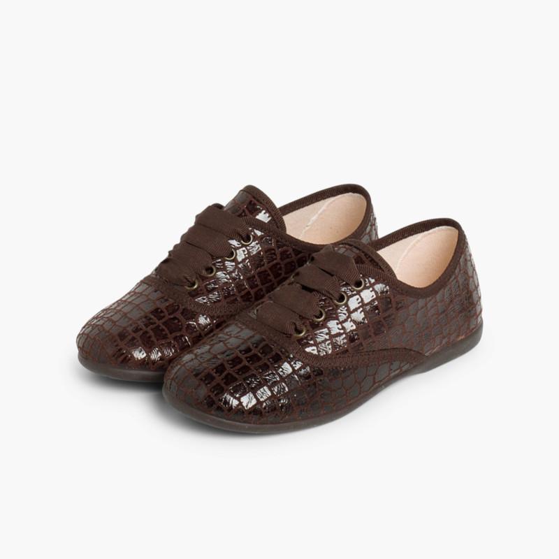 Zapatos Blucher Mujer y Niña Coco