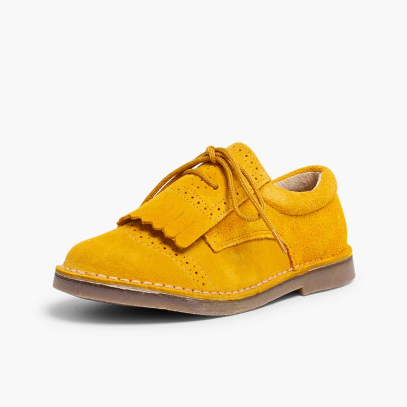 Zapatos Blucher Niños Flecos