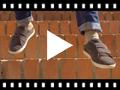 Video from Zapatillas deportivas serraje y velcro niños