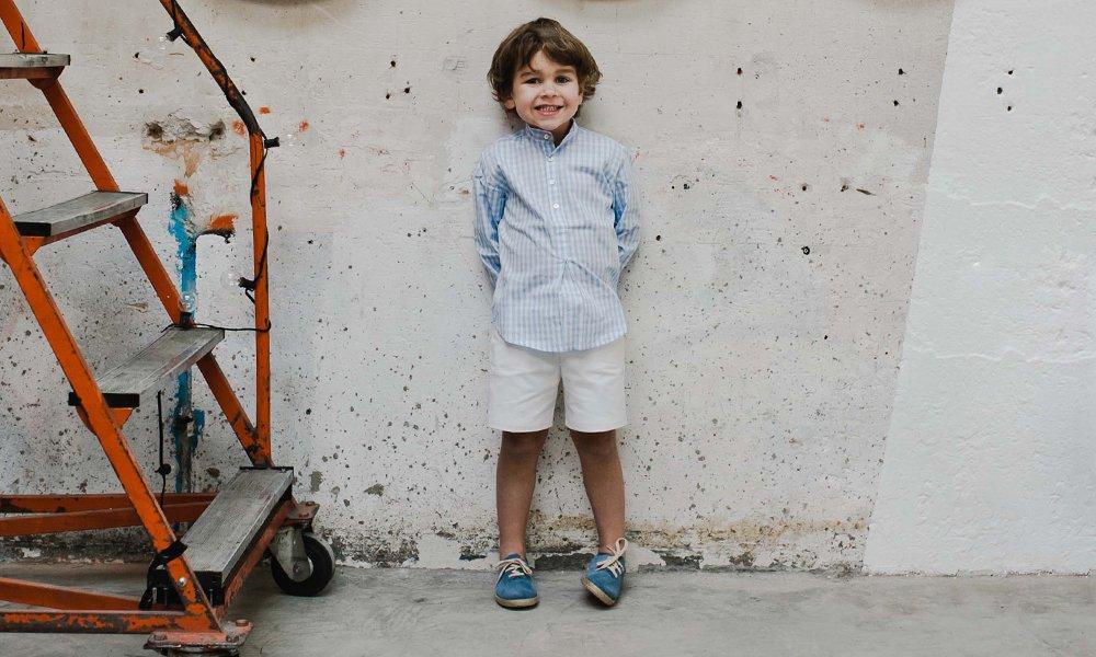 Zapatillas Cordones Serraje y Yute Niños