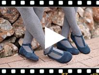 Video from Merceditas Niña Serraje con Cierre de pulsera