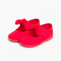 Mercedita Lona Lazo con Velcro Rojo