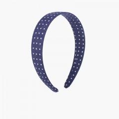 Diadema tela estrellitas Azul Marino