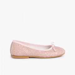 Bailarinas glitter Rosa