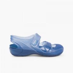 Zapatillas Playa Piscina Bondi Azul Marino