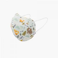 Mascarillas reutilizables para niños estampadas  Bosque