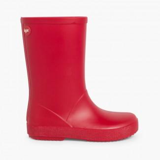 Botas de Agua para Niños Splash de Igor Rojo