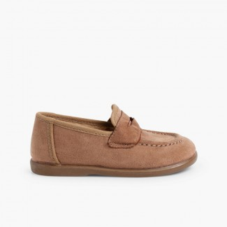 Mocasines Niño Serratex Topo