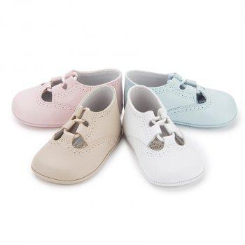 b0863bffdad9c Zapato Inglesito Bebé de Piel