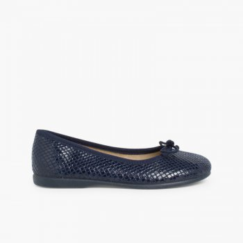 Bailarinas Niñas Print Serpiente. Zapatos para Niña y Mujer 03c48982fe6