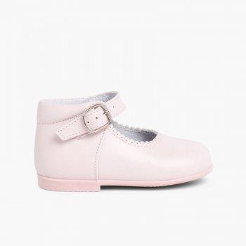32677509951 Mercedita Niña Piel Bota. Zapatos de calidad para Niñas