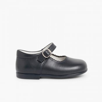 7d21631ed29 Merceditas Niña Piel Hebilla. Zapatos baratos para Niñas