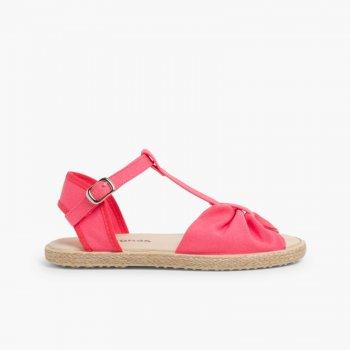 diferentemente nueva estilos tienda oficial Sandalias Planas Niña de Esparto | Sandalias de Verano