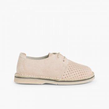Zapatos de comunión tipo blucher para niño 0932beea55af