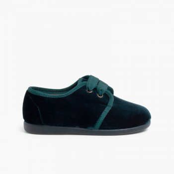 e56d75410 Zapato Terciopelo Blucher – Calzado primeros pasos online