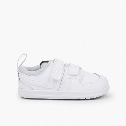 Zapatillas Deportivas Nike Tallas Pequeñas Blanco