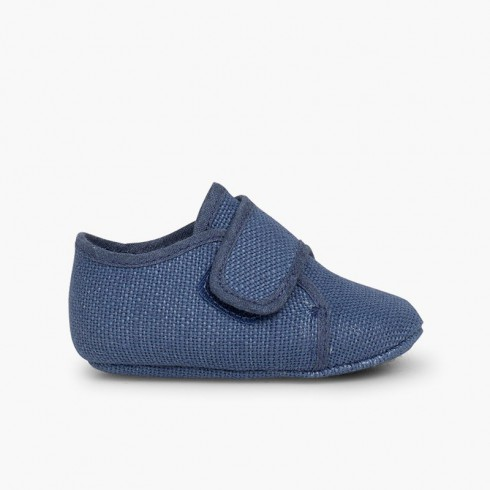Badana Blucher bebé velcro Azul