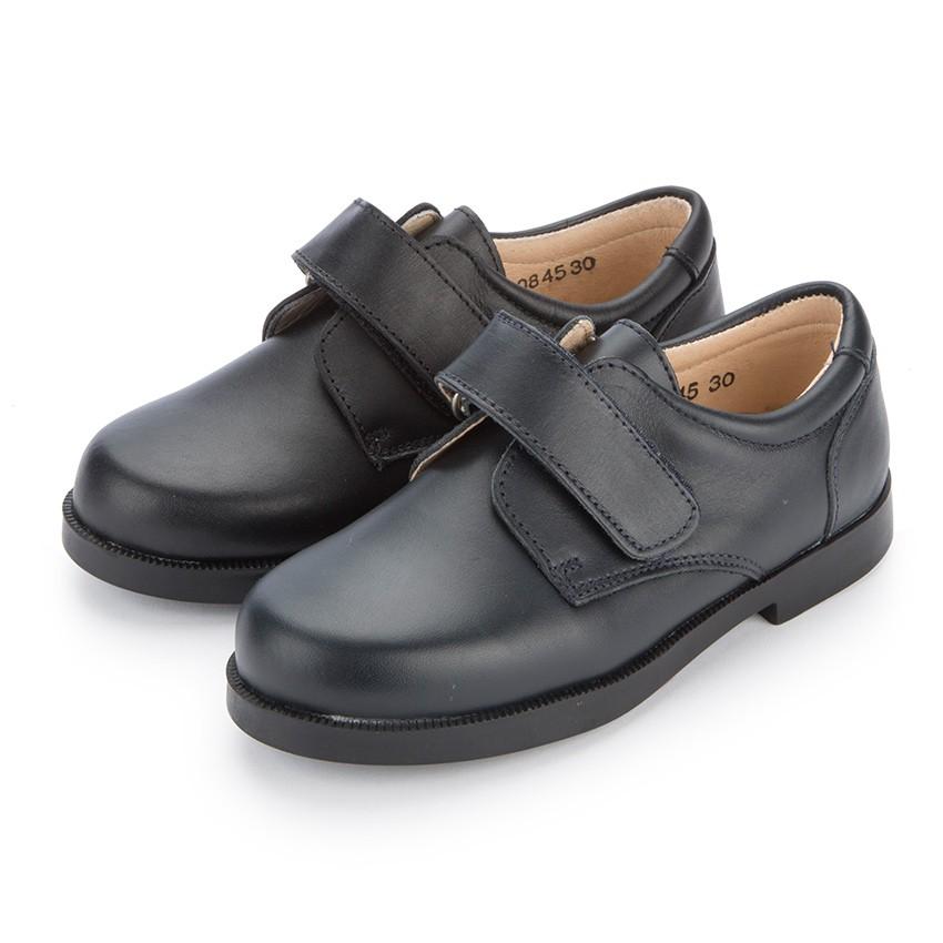 Zapato Colegial Escolares Niño tira adherente