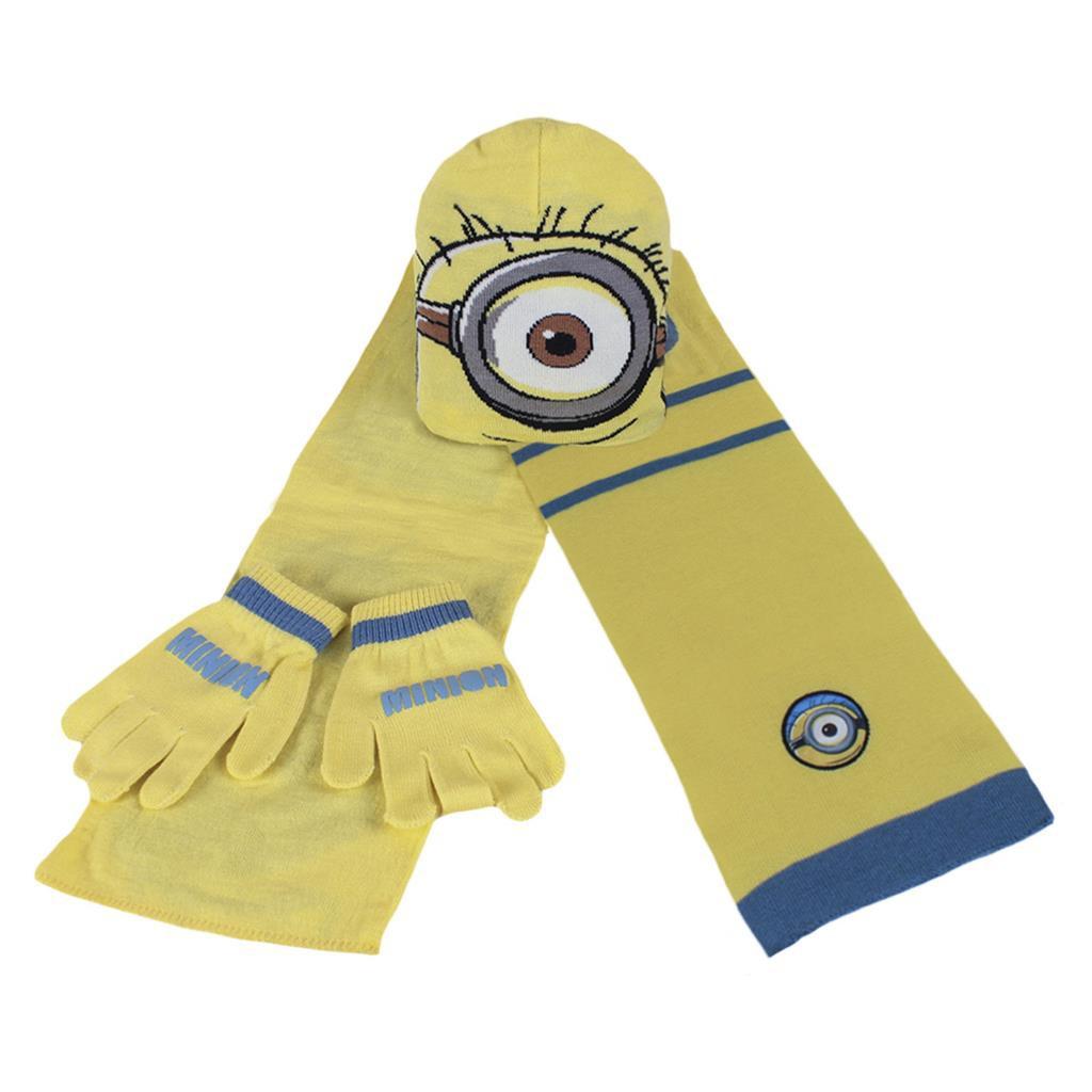 Set gorro, bufanda y guantes niños Disney