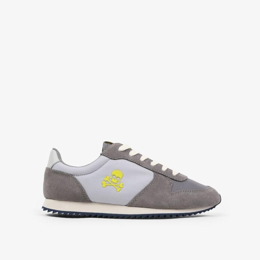 Sneakers Scalpers niños insignia gris
