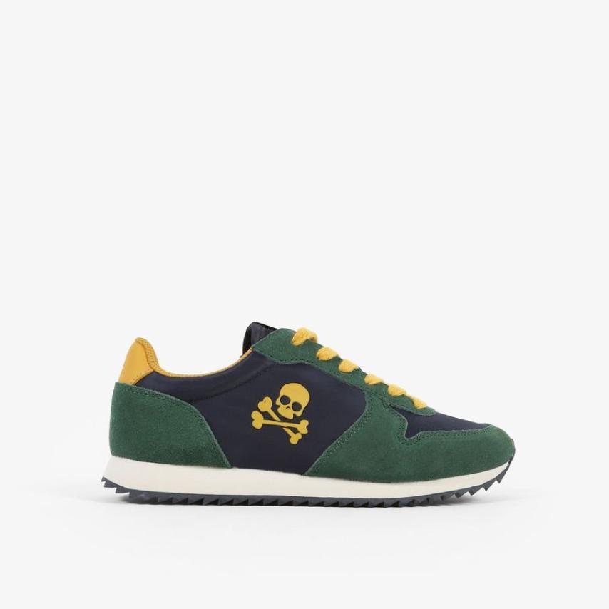 Sneakers Scalpers niños insignia azul
