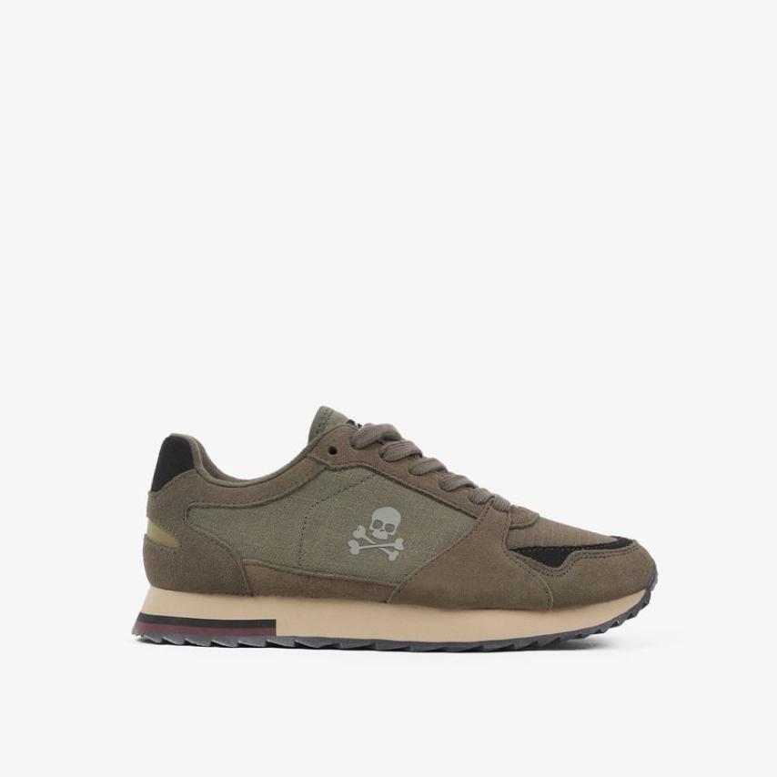 Sneakers Scalpers niños ligeras kaki